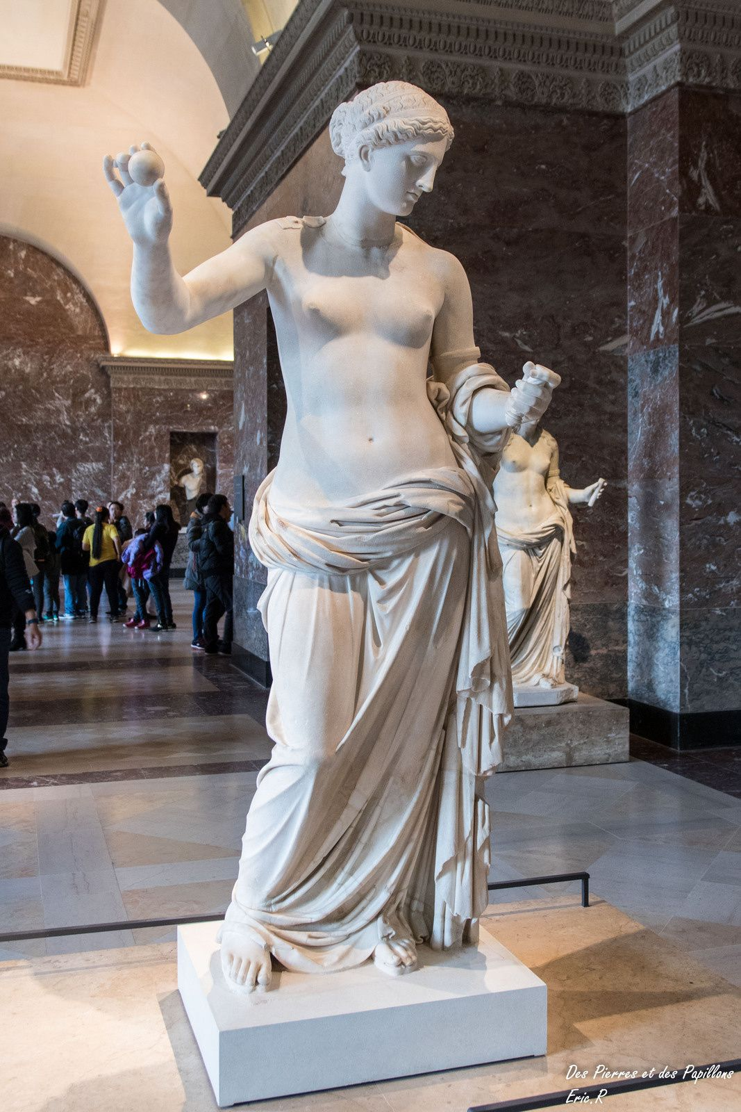 Aphrodite, dite Vénus d'Arles, époque de l'Empereur Auguste 27 av. à 14 ap. JC
