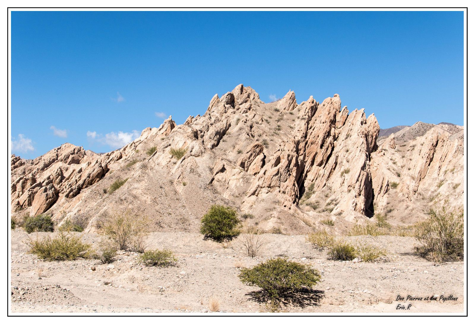 Images de la vallée des Flèches - Quebrada de las flechas.
