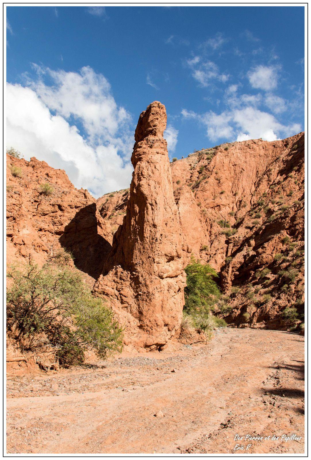 """Vallée menant à """"Los graneros del Inca"""""""