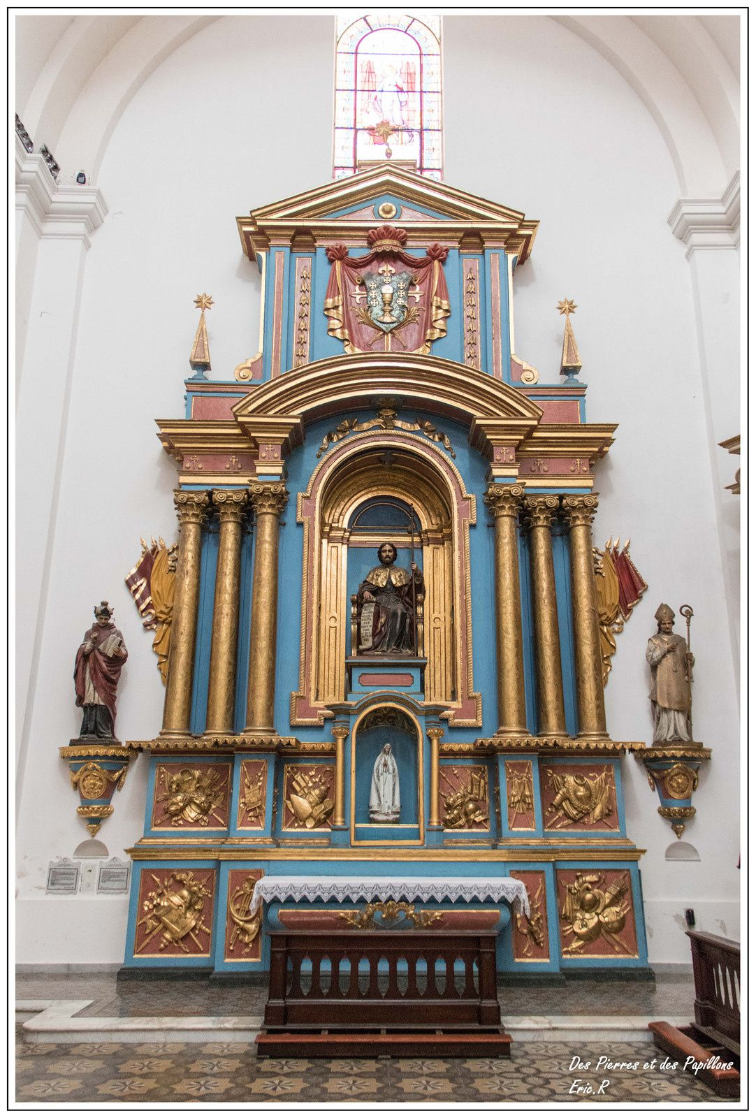 Iglesia de Loyola dans le quartier Monserrat