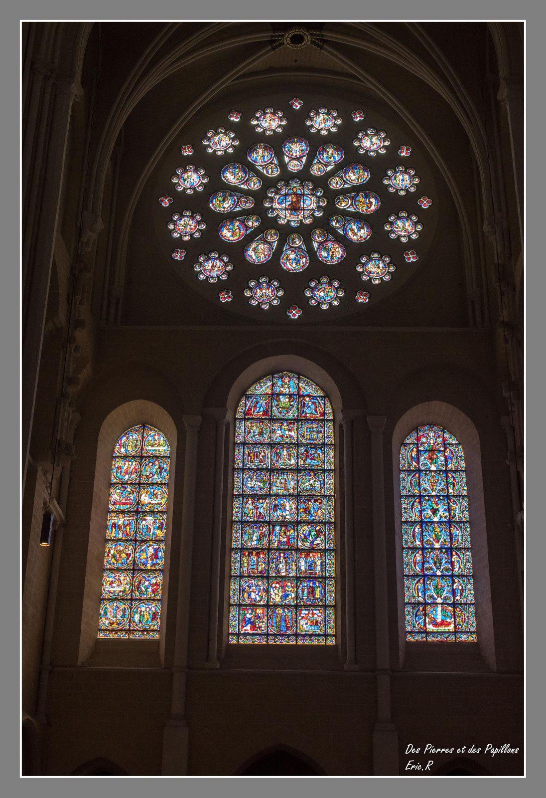 Quelques exemples de vitraux.