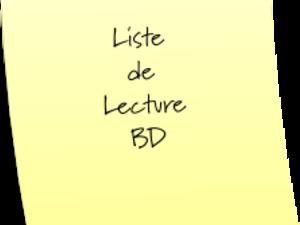 09/13 #Liste de lecture #Septembre 2013