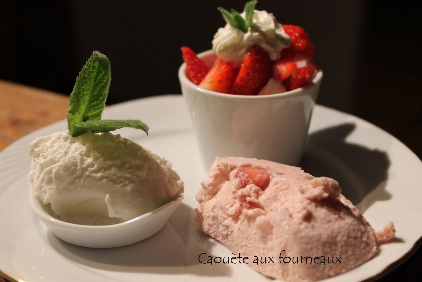 Assiette gourmande aux fraises