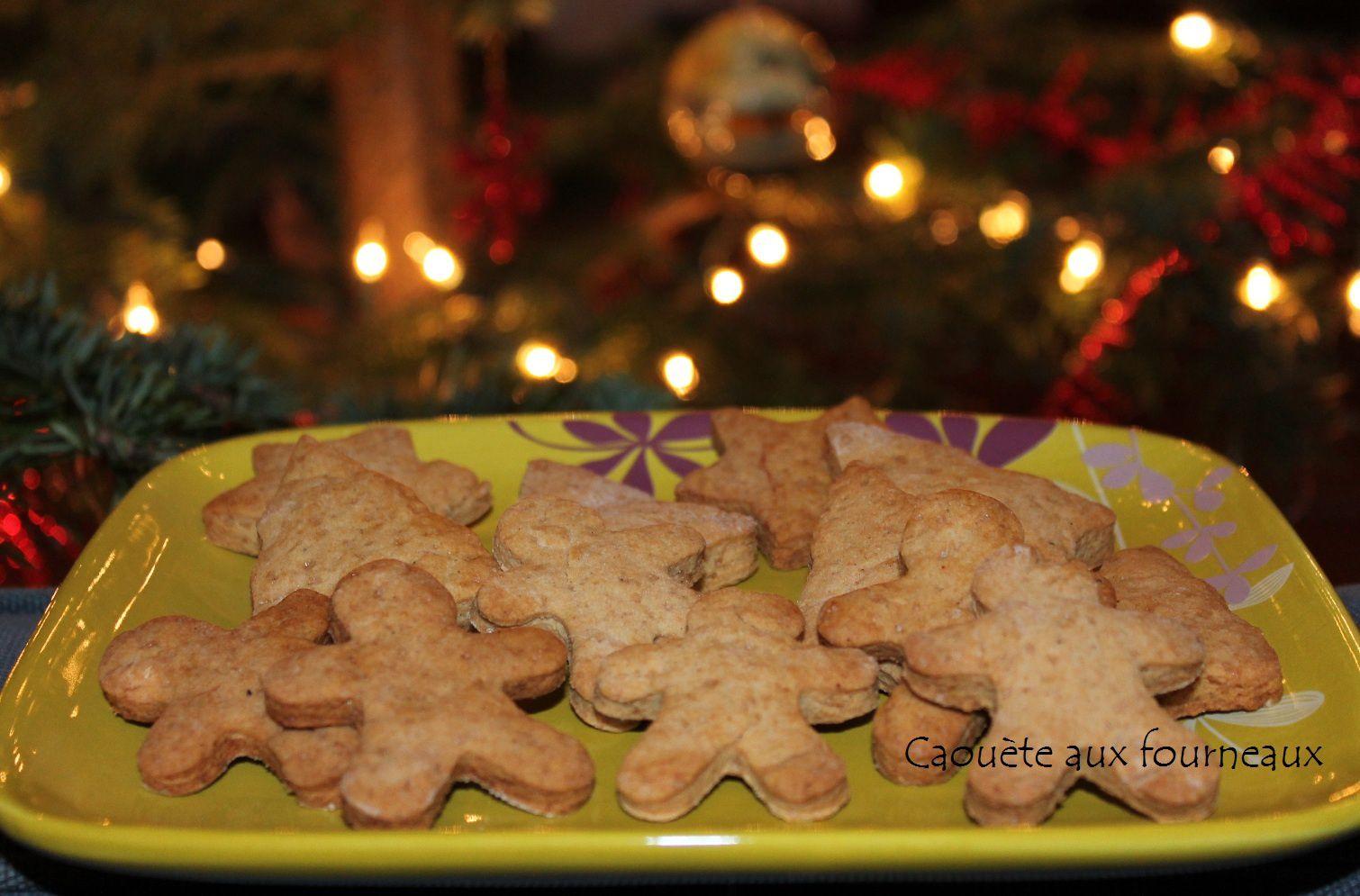 Petits biscuits de Noël aux 4 épices