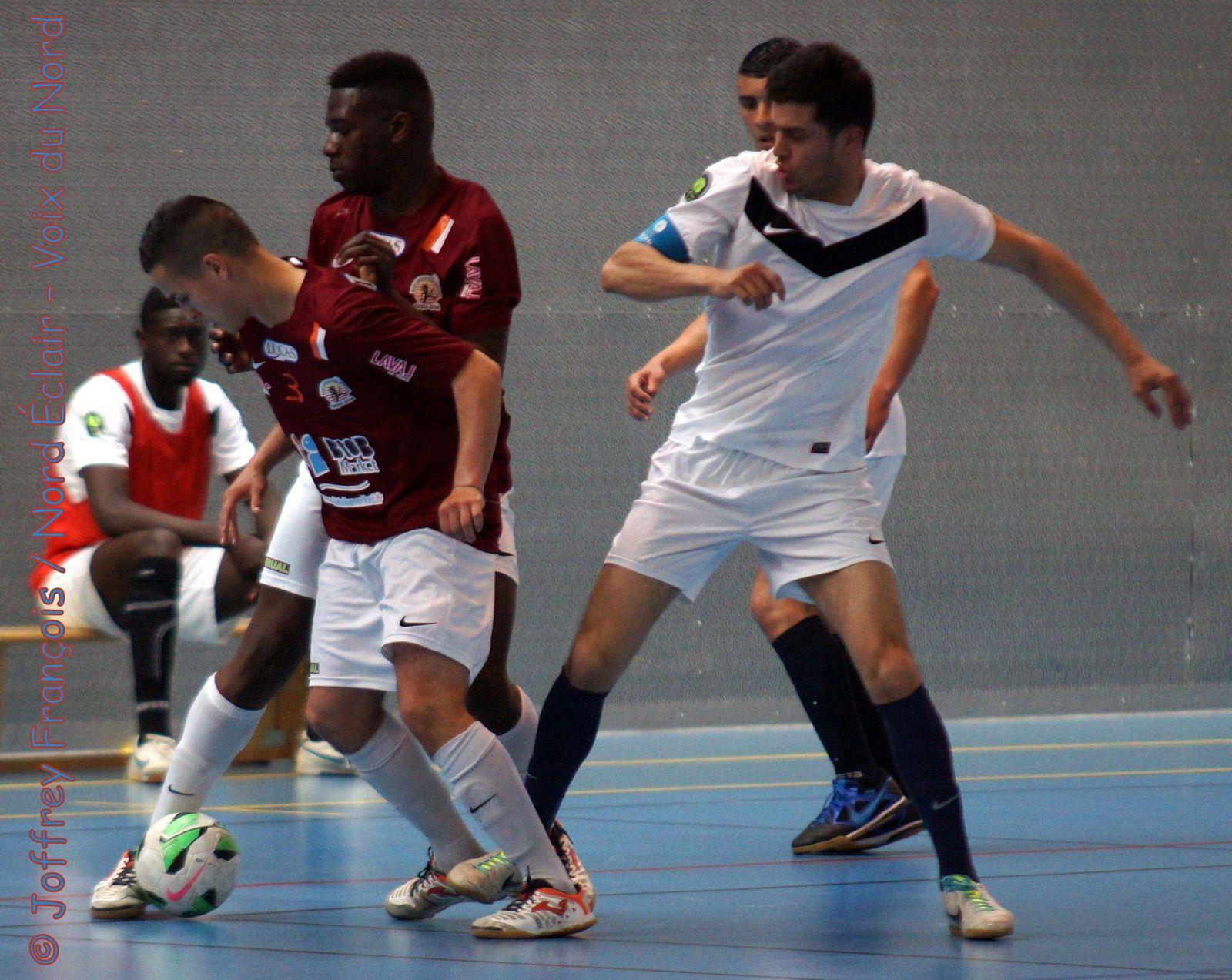19.04.14 : DHR (USPRT-Noeux) PL (Rbx Omnisport-Wazemmes) Futsal (Rbx - Laval)