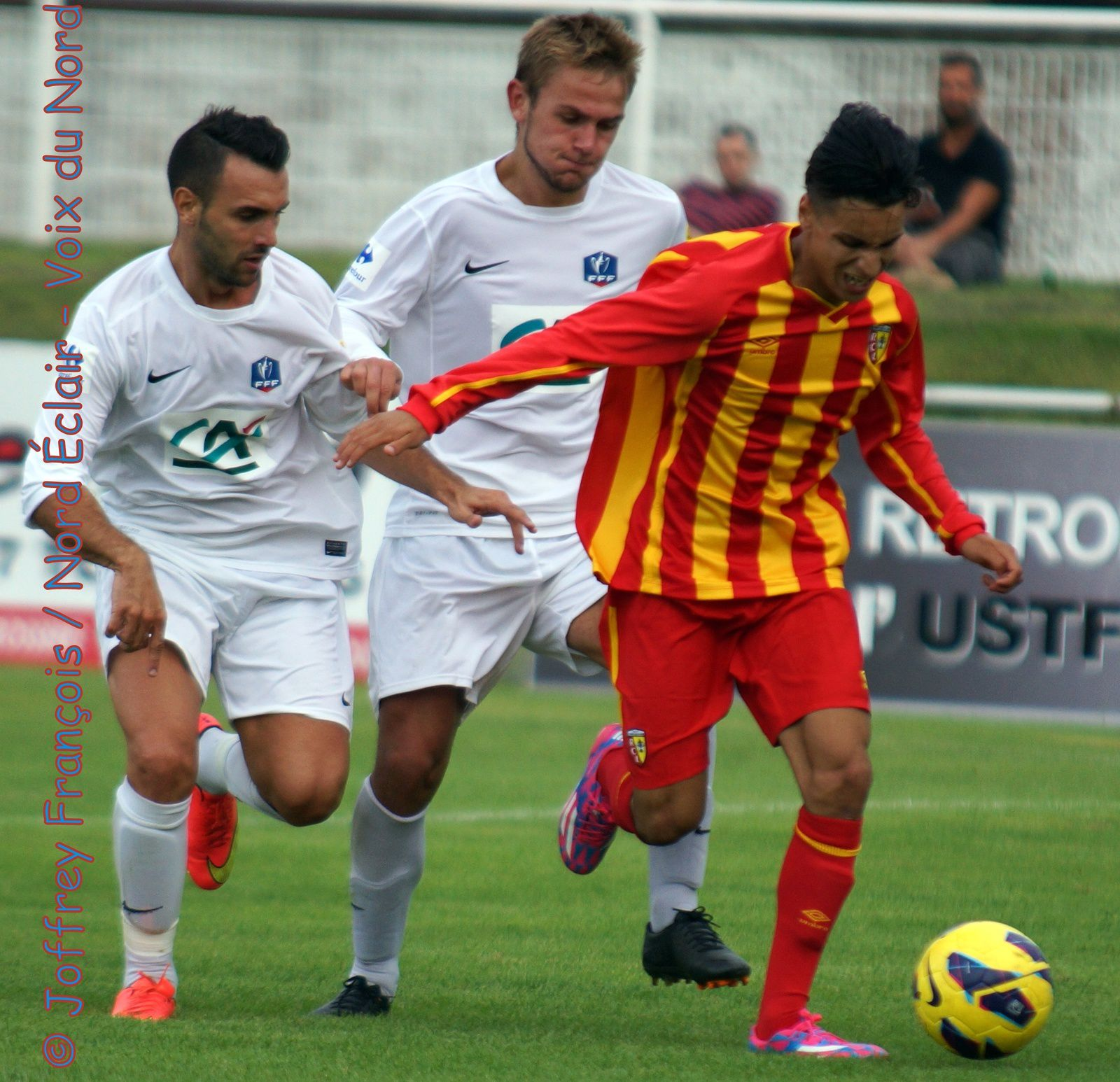 09.08.14 Tourcoing (CFA 2) - RC Lens (U19 Nat)