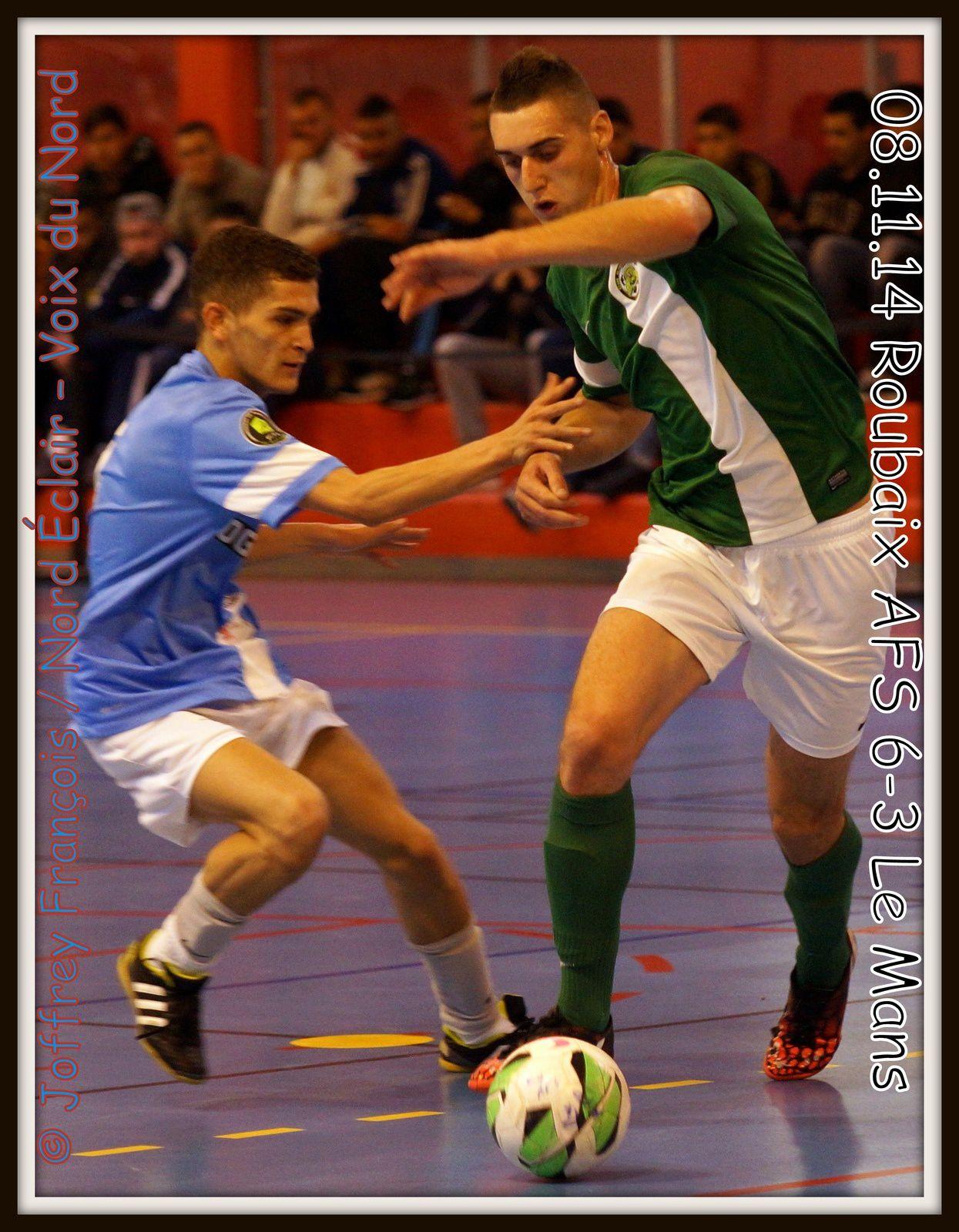 08.11.14 Futsal Roubaix AFS - Le Mans