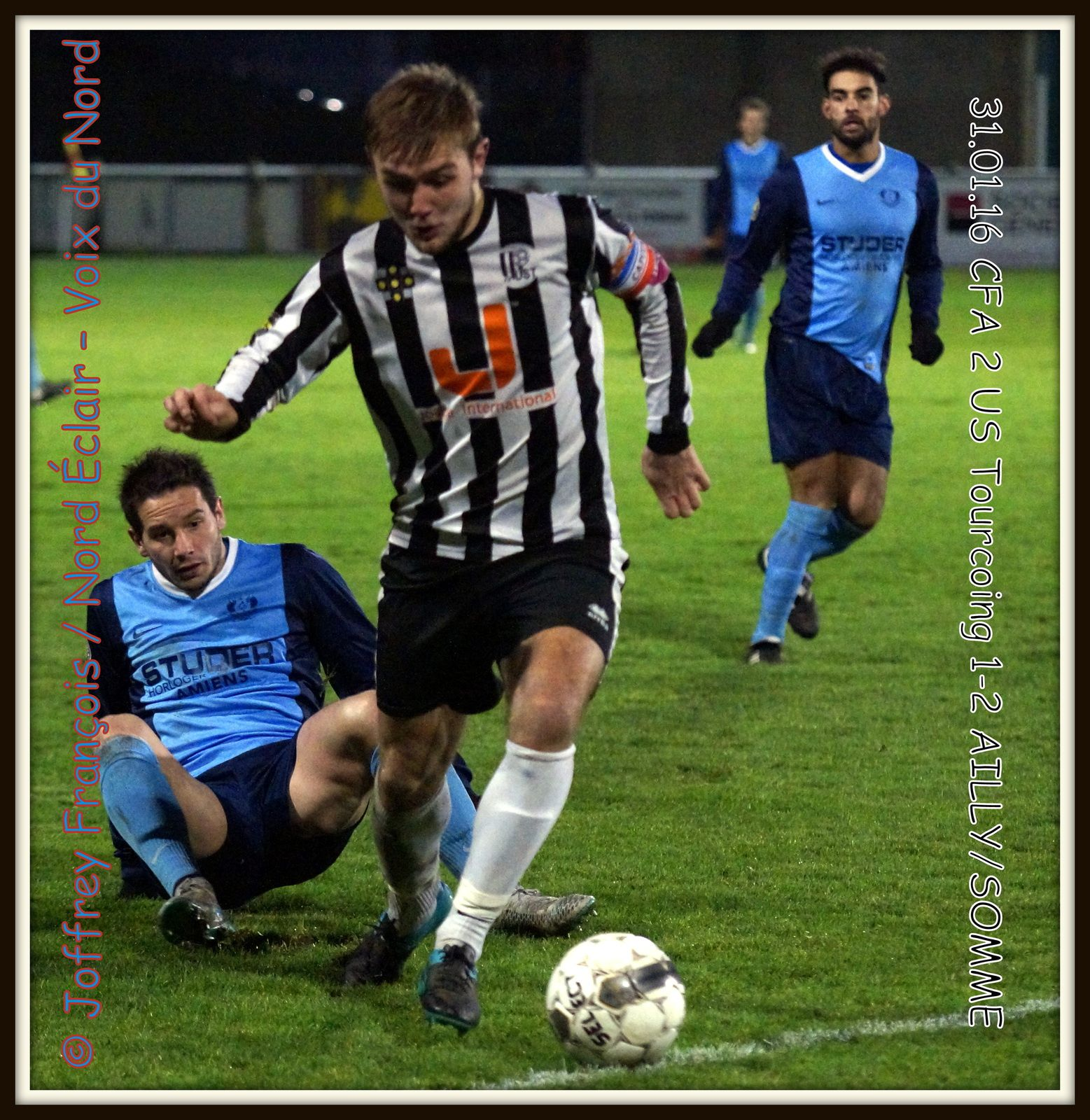 31.01.2016 CFA 2 TOURCOING - AILLY