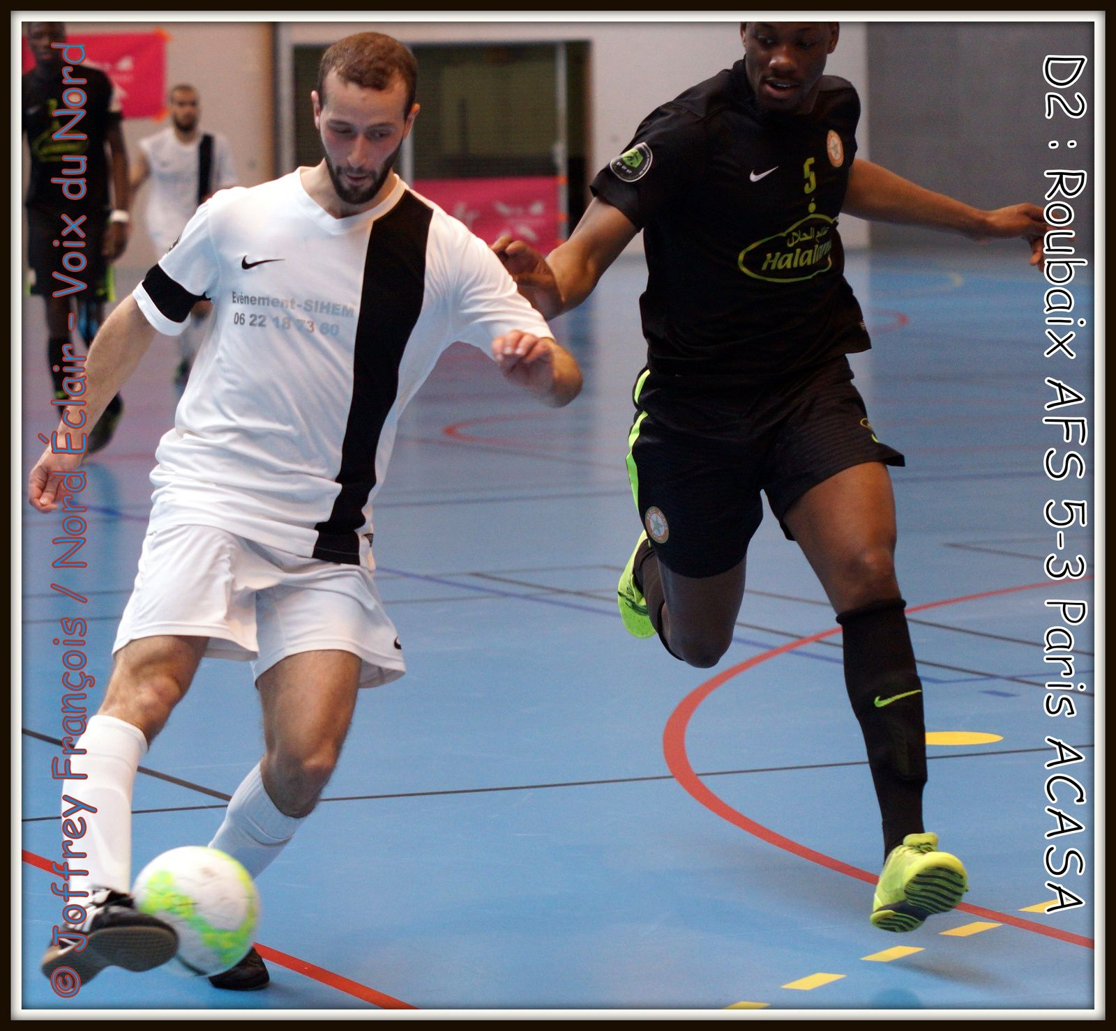 30.04.16 D2 Futsal Roubaix AFS - Paris ACASA