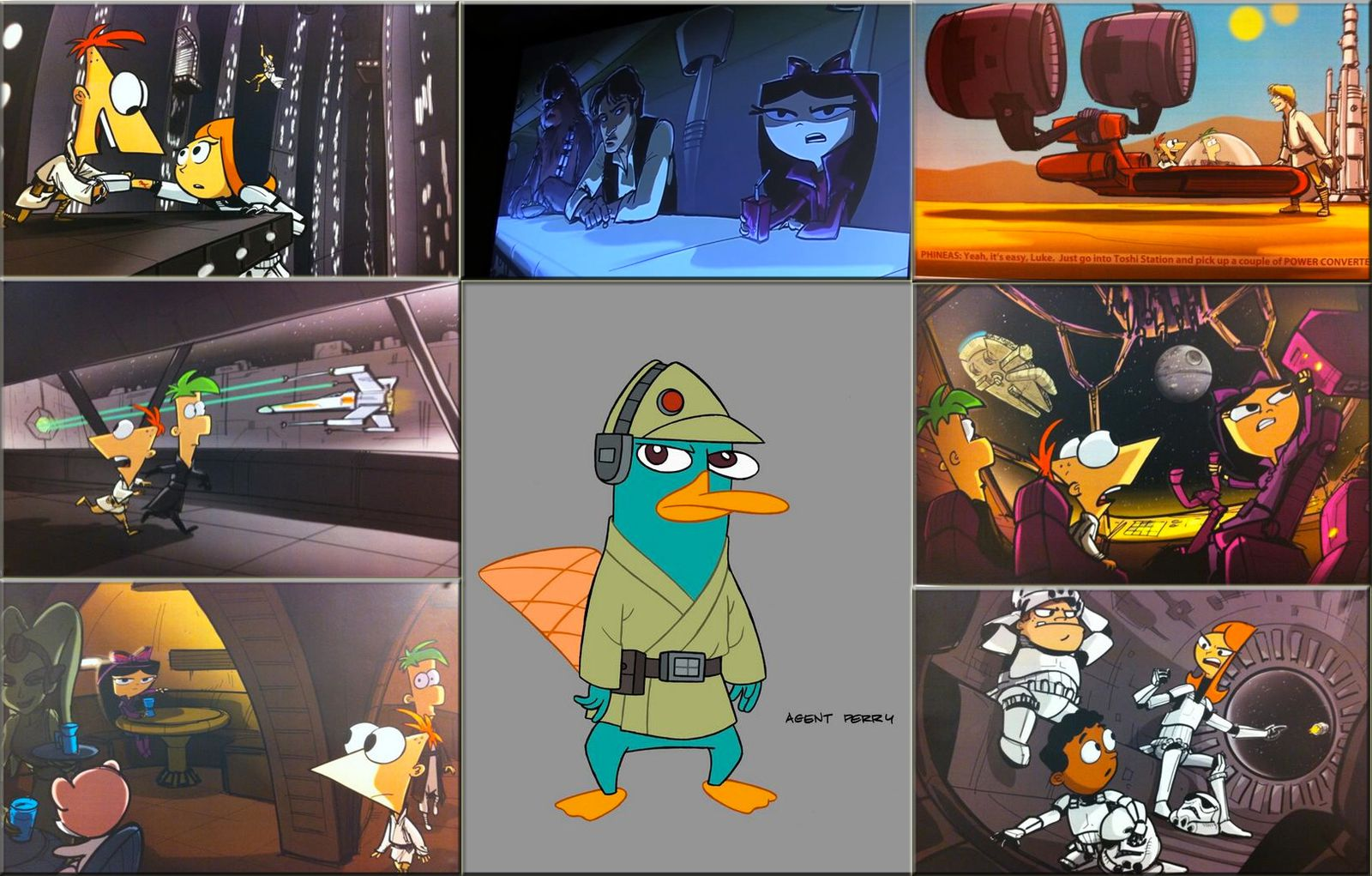 http://animationfascination.wordpress.com/2013/09/14/new-concept-art-for-the-upcoming-phineas-and-ferb-star-wars-special/