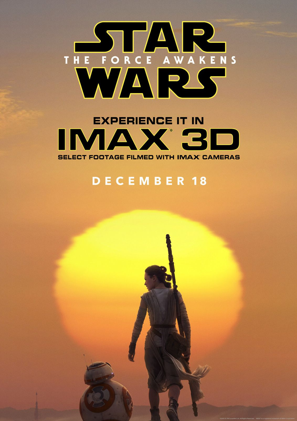 The Force Awakens : Affiche Imax