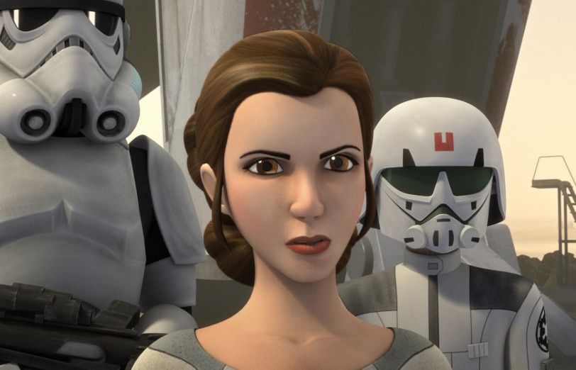 Star Wars Rebels : la Princesse Leïa ,copyright Lucasfilm