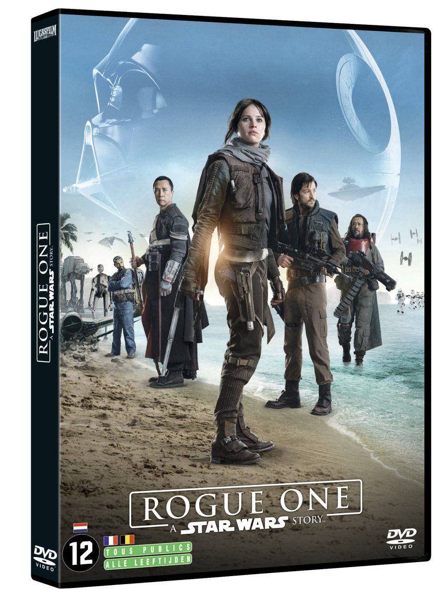 Les Visuels des DVD &amp&#x3B; BluRay belgo-Français Rogue One
