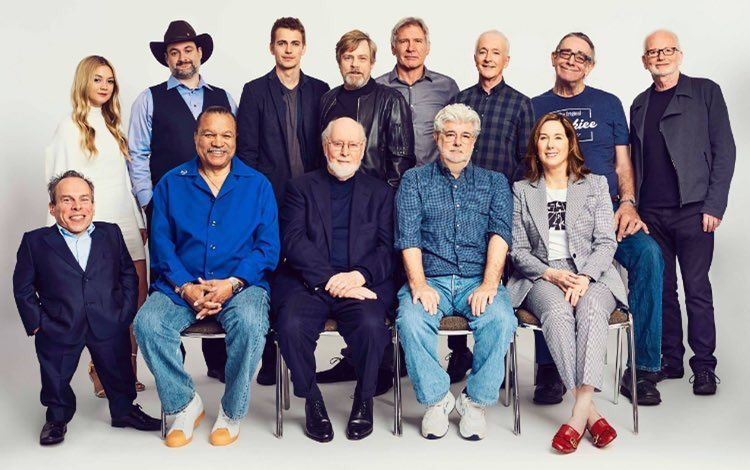 La photo de Famille des 40 ans de Star Wars