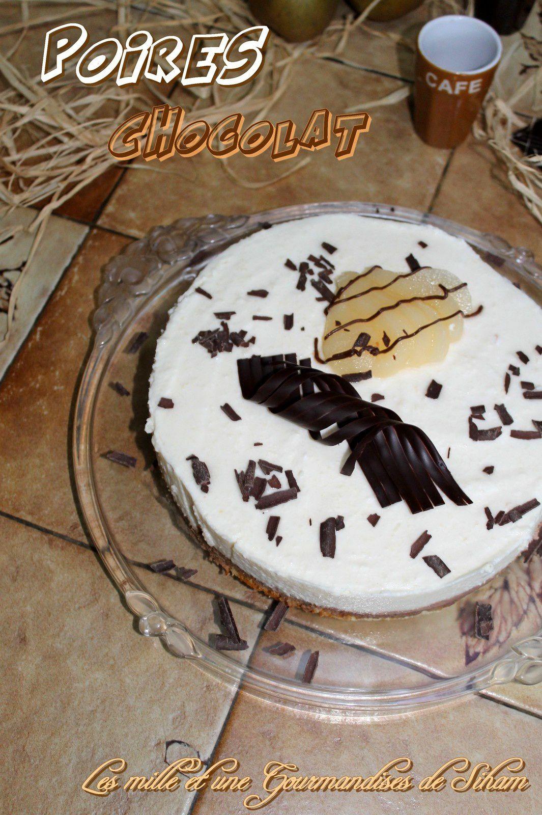 Délice Poire Chocolat