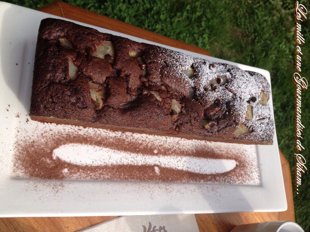 Cake au chocolat d'Emilie !