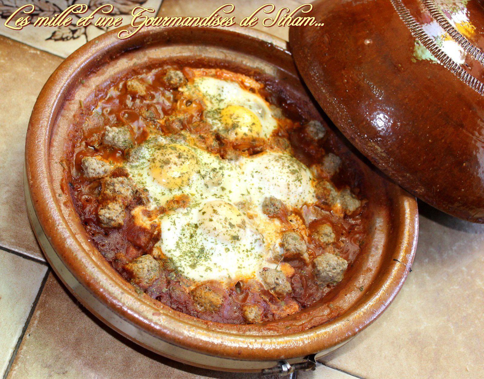 Tajine Boulettes Sauce tomate et ses petits légumes
