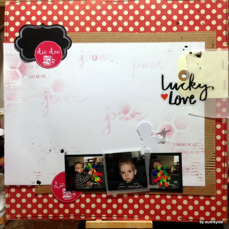 page lucky love