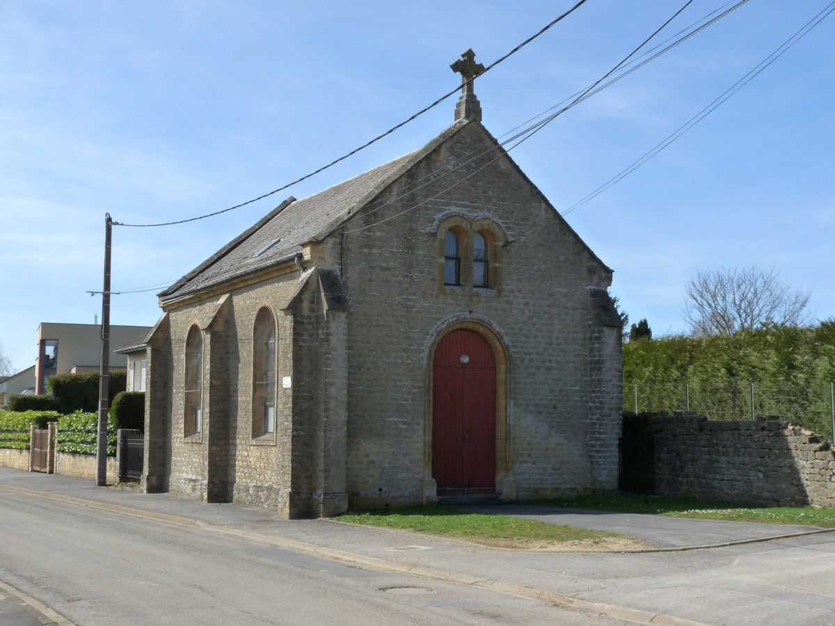 Illy, le temple protestant