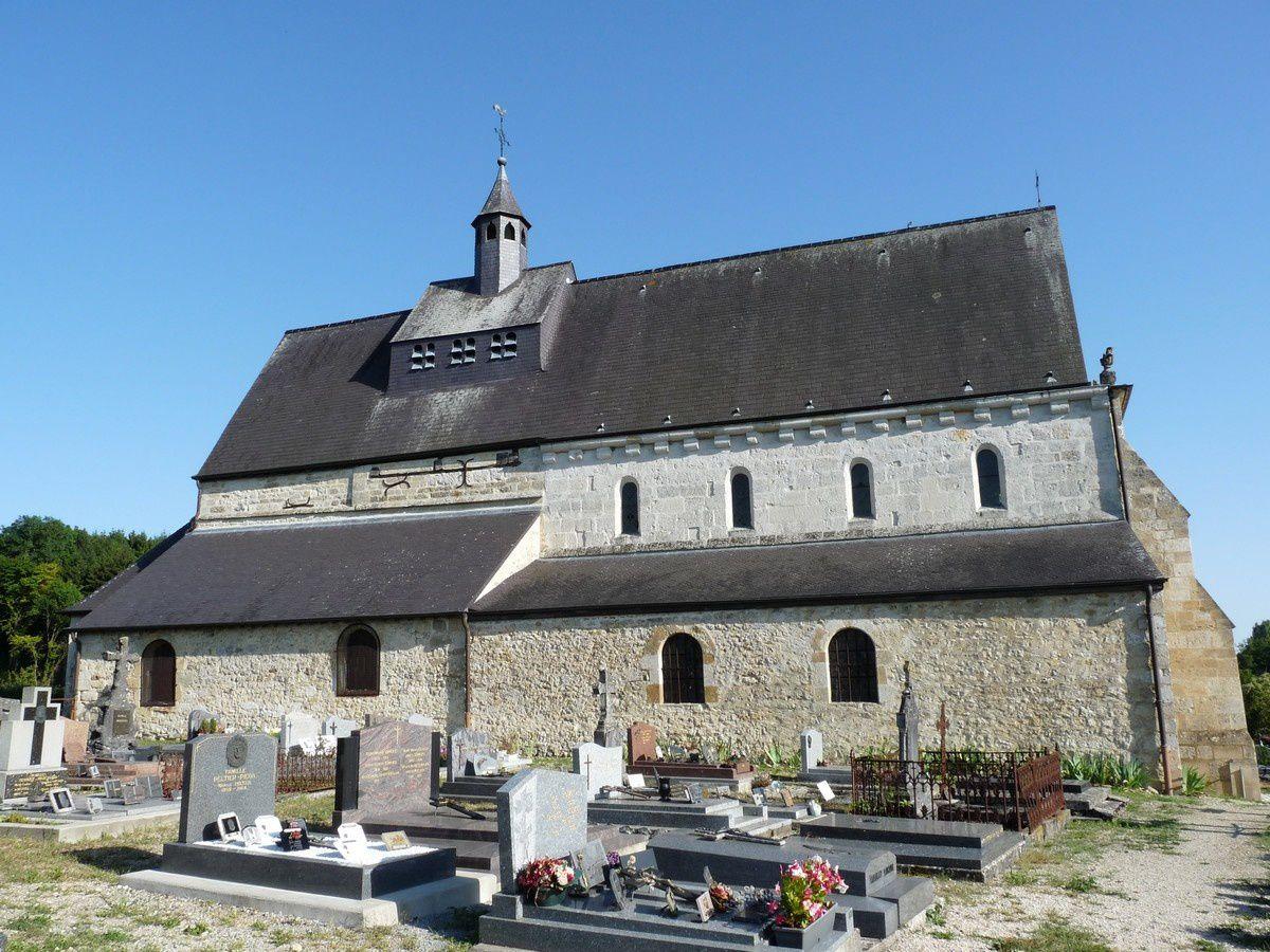 L'église de Saint-Loup-Terrier (Ardennes)