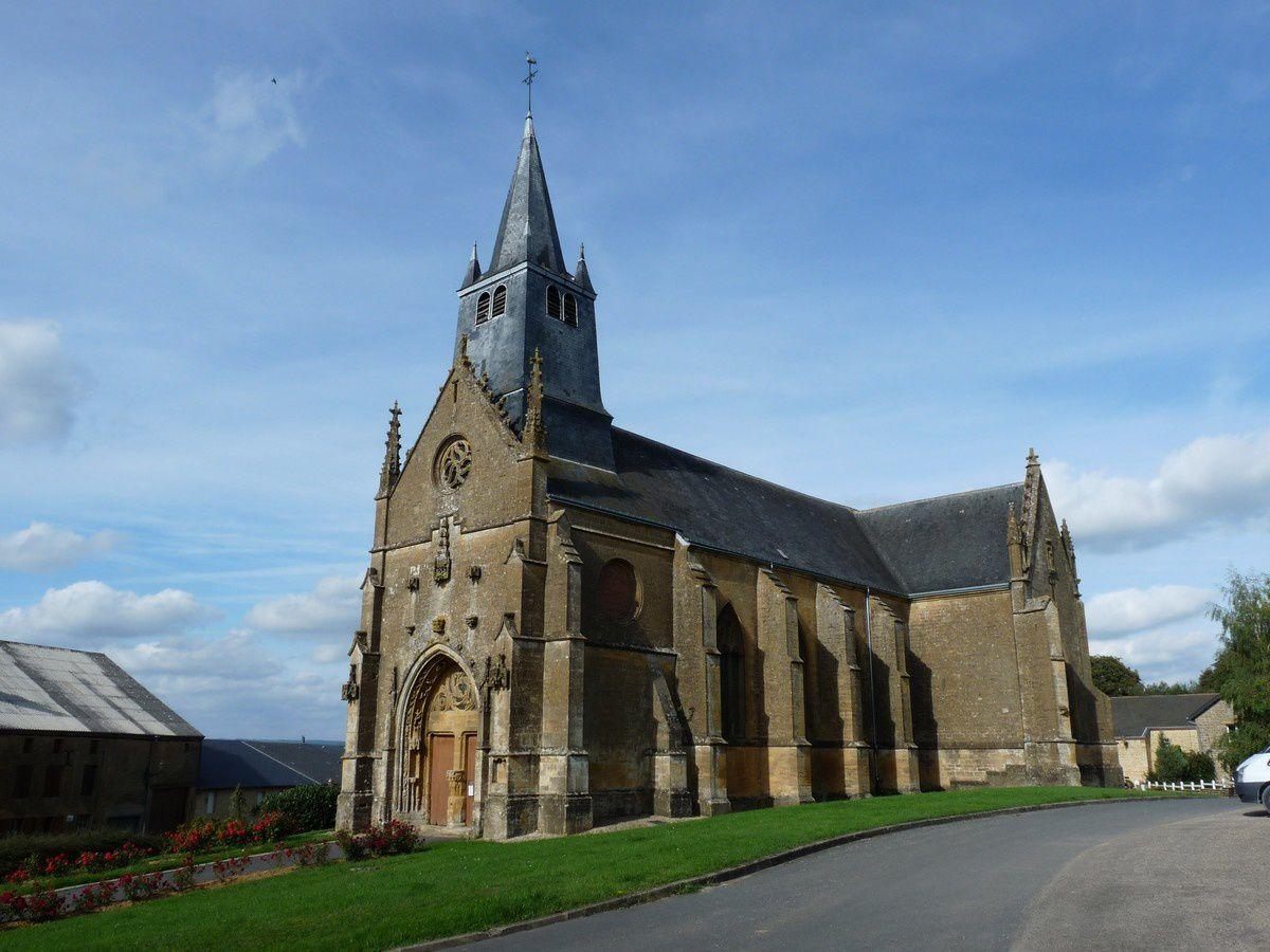 Saint-Marcel (Ardennes) : l'église