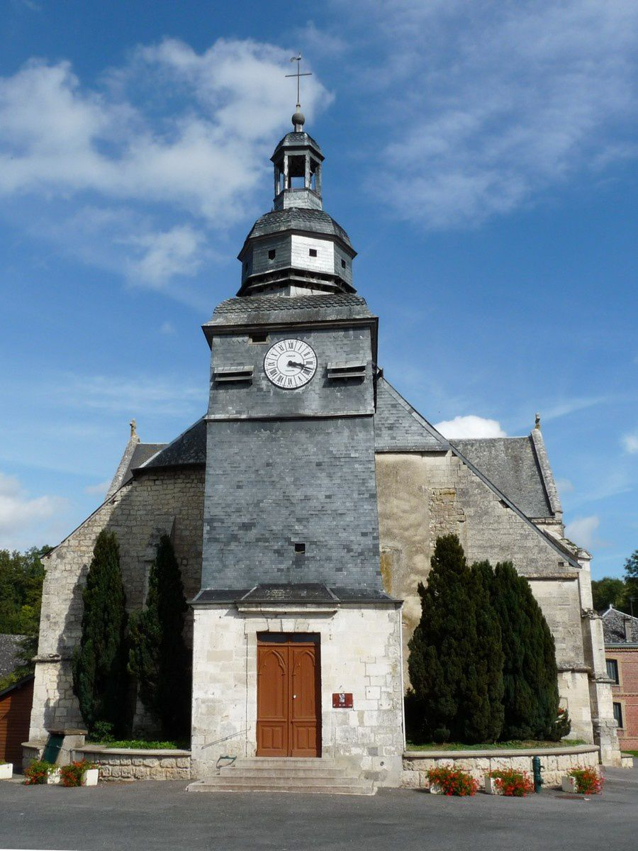 Wasigny (Ardennes) : l'église