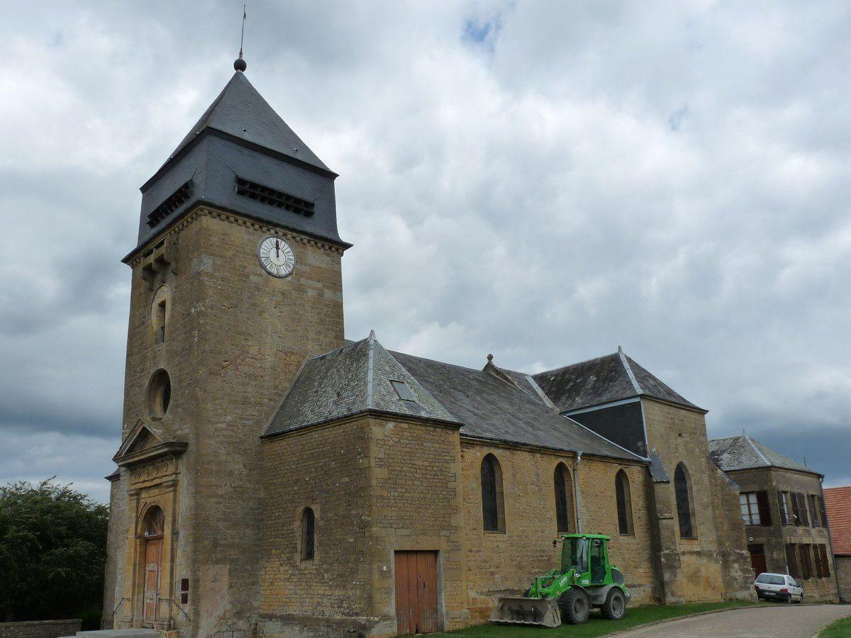 L'église de Remilly-Aillicourt (Ardennes)