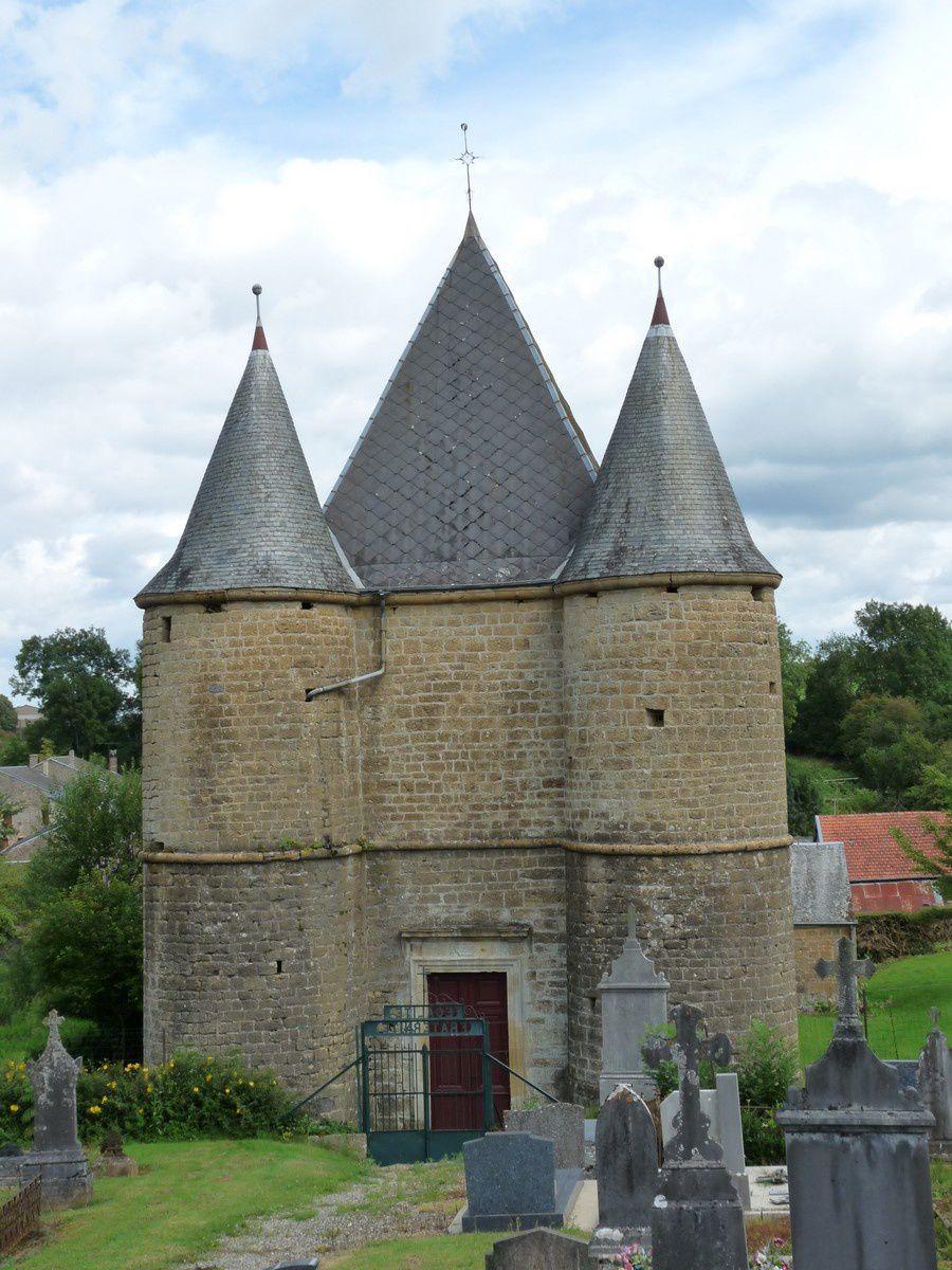 Rouvroy-sur-Audry (Ardennes) : la chapelle de Servion