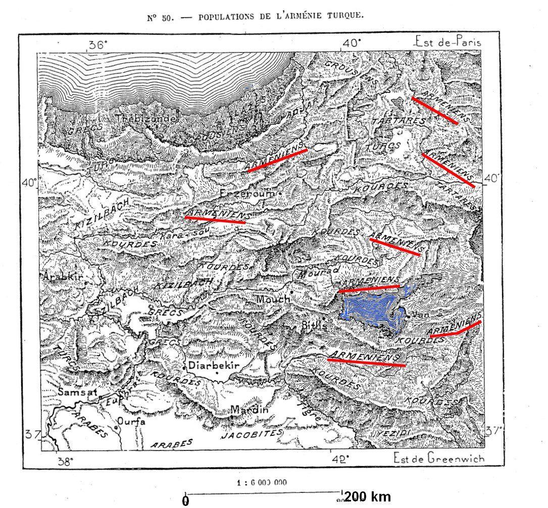 Populations de l'Arménie turque