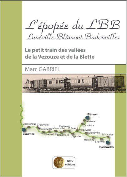 Livres de Marc Gabriel sur la région de Lunéville