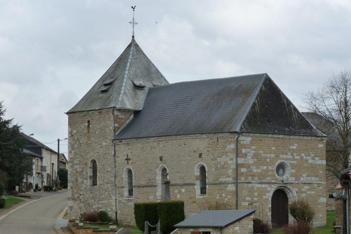 Cernion (Ardennes) : l'église