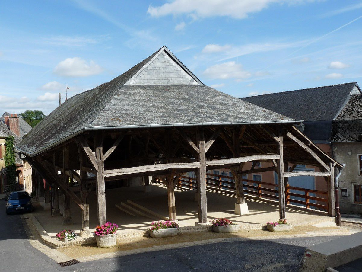 Wasigny (Ardennes) : la halle
