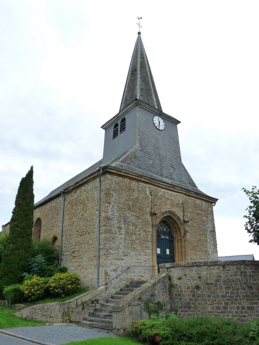 Lonny (Ardennes) : l'église