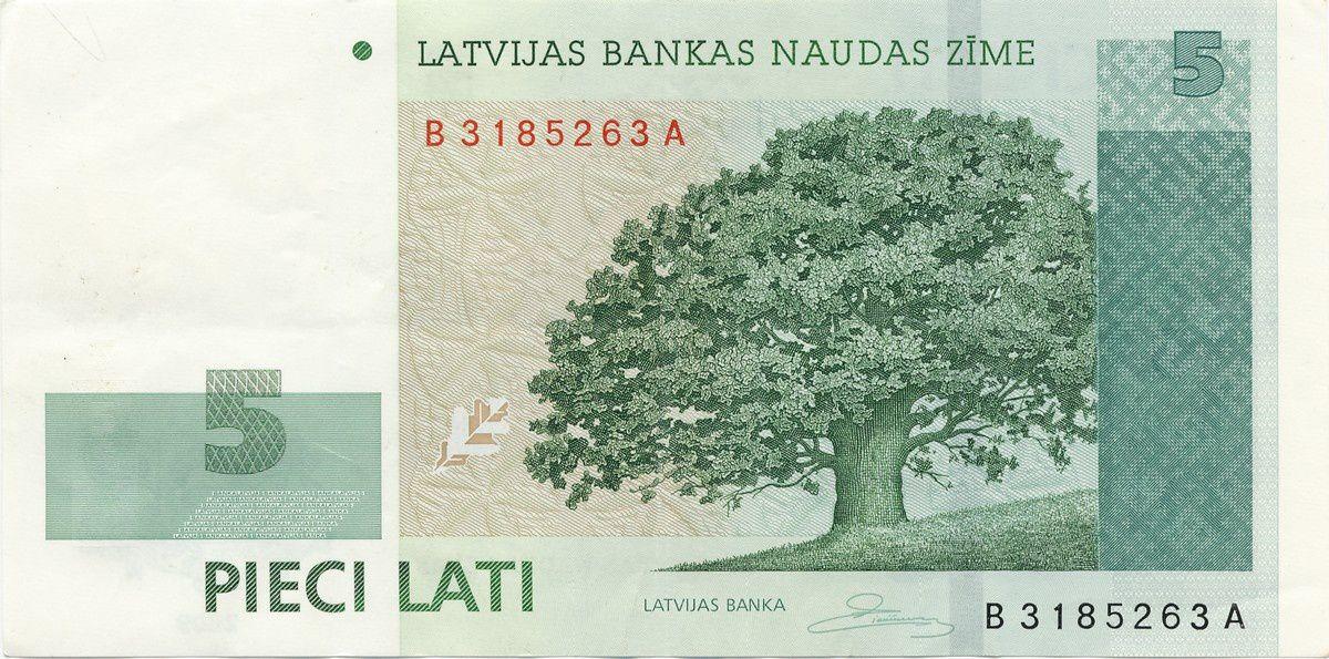 Billets de banque de Lettonie