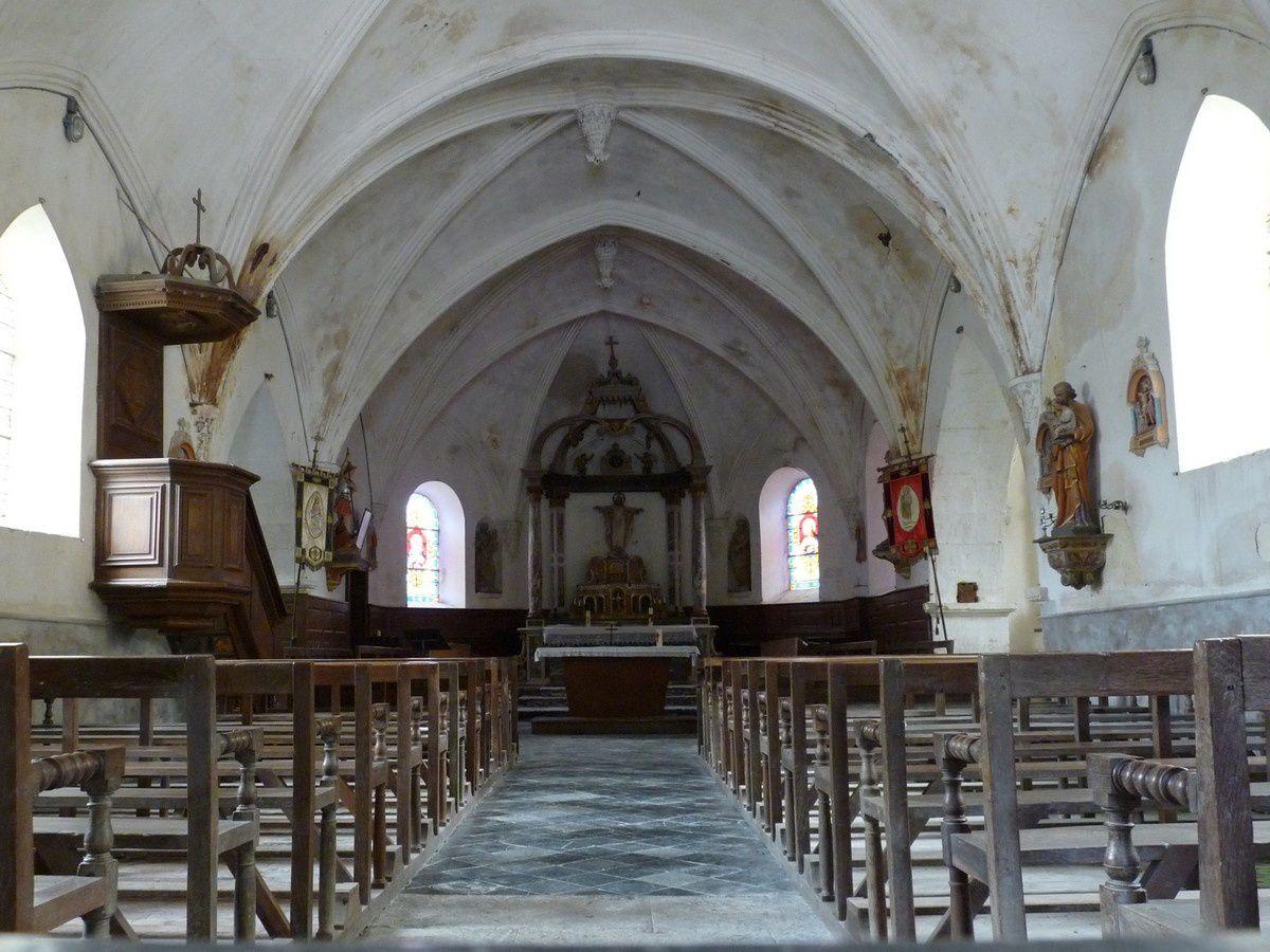 Suzanne (Ardennes) : l'église Saint-Barthélemy