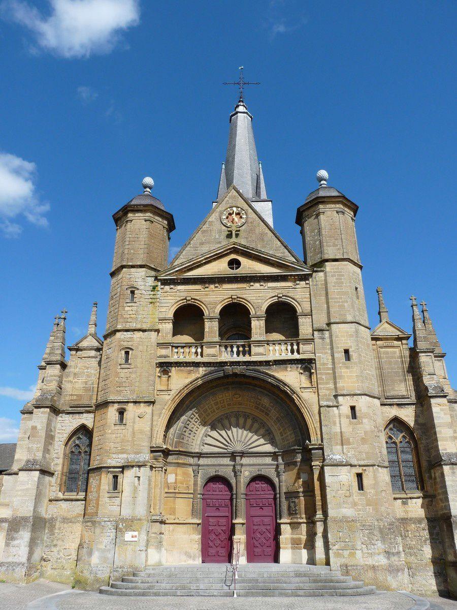 Charleville-Mézières : l'église Saint-Lié de Mohon