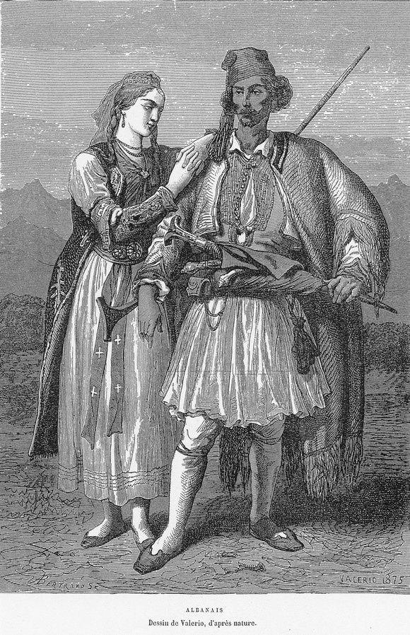 L'Albanie vue par Élisée Reclus en 1876