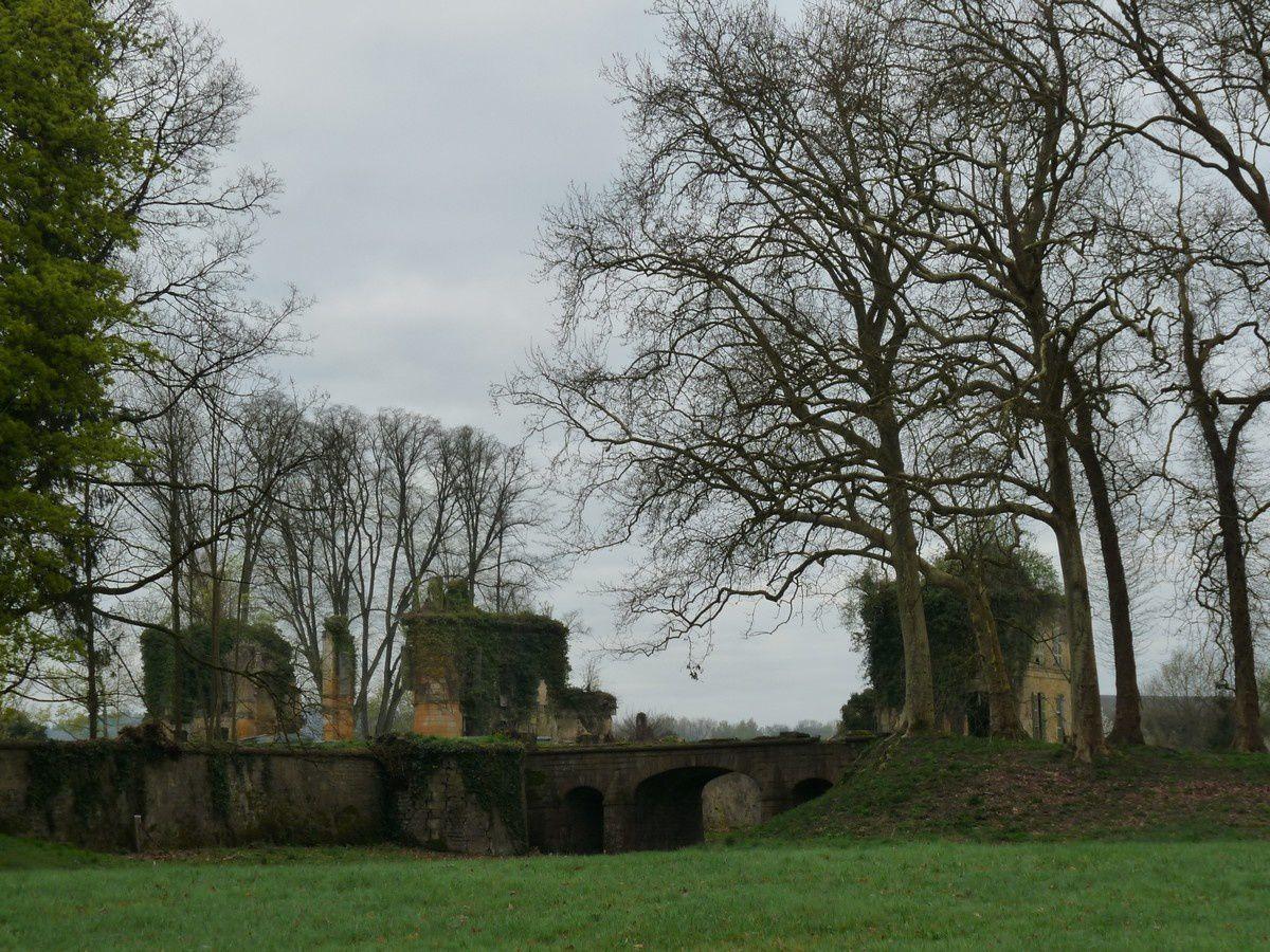 Vendresse : les ruines du château de La Cassine