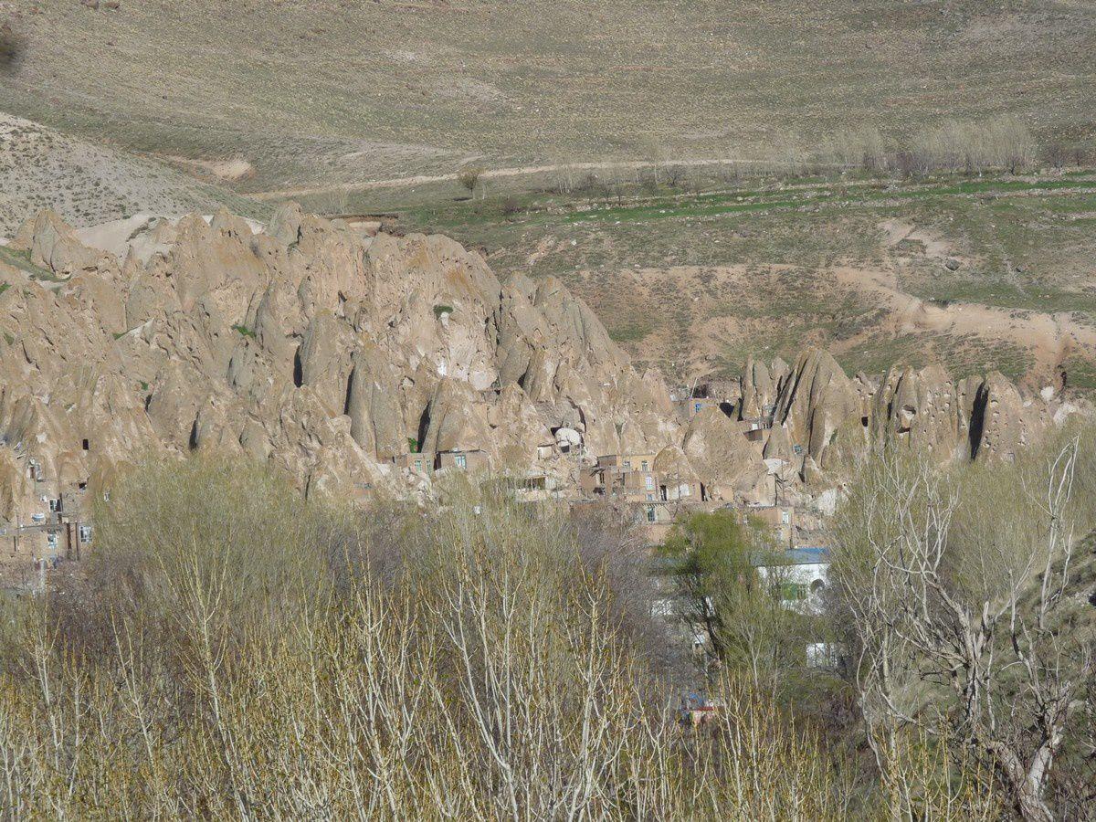 Iran : le village troglodytique de Kandovan