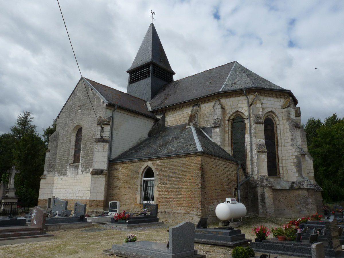 L'église Saint-Jean-Baptiste de Neuflize (Ardennes)