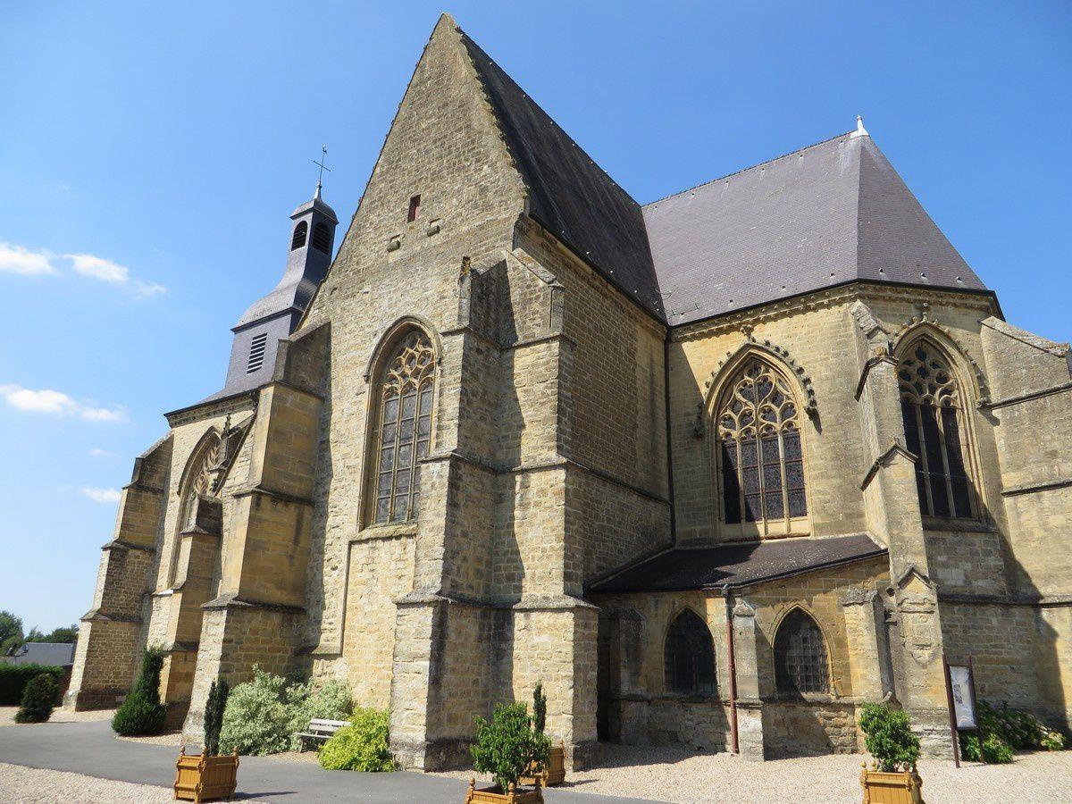 L'église Notre-Dame de Renwez (Ardennes)