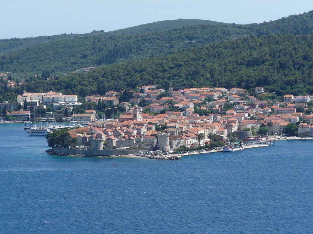 Korčula et Mljet (Croatie)