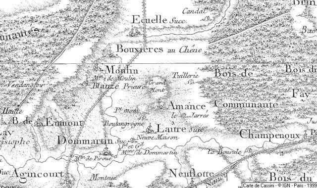 Voyage dans la France du XVIIIe siècle, la tête dans les cartes de Cassini (Émilie Brouze)