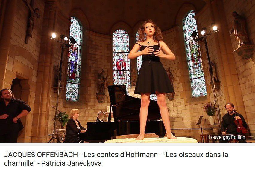 JACQUES OFFENBACH - Les contes d'Hoffmann - &quot&#x3B;Les oiseaux dans la charmille&quot&#x3B; - Patricia Janeckova  (Louvergny 2015)