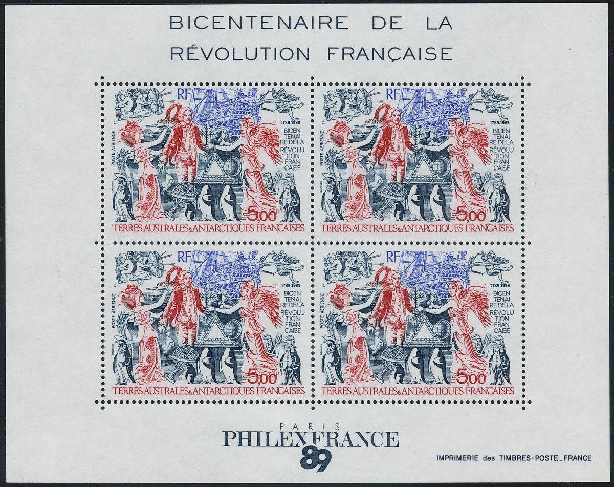 1789-1989 : collection thématique. Terres australes et antarctiques françaises (TAAF)