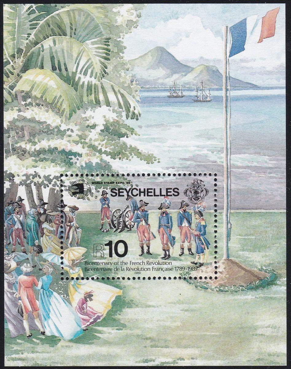 1789-1989 : collection thématique. Seychelles