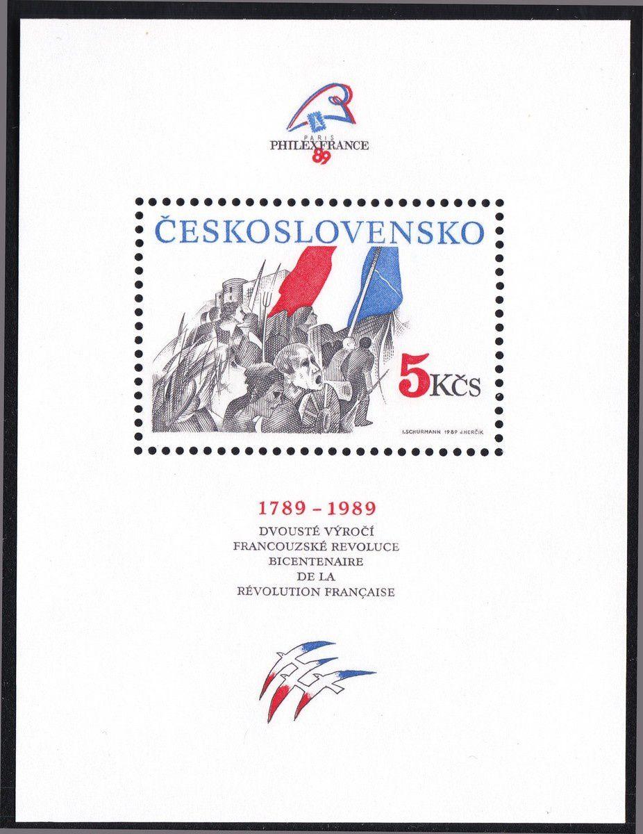 1789-1989 : collection thématique. Tchécoslovaquie