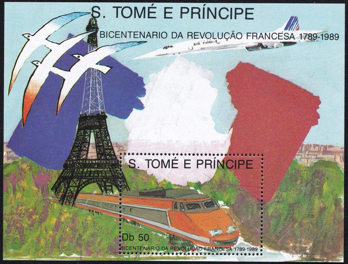 1789-1989 : collection thématique. Saint-Thomas et Prince