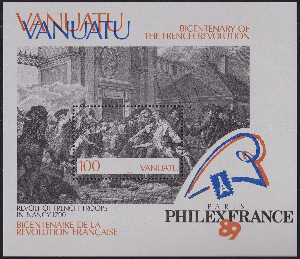 1789-1989 : collection thématique. Vanuatu