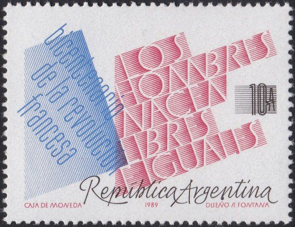 1789-1989 : collection thématique. Argentine